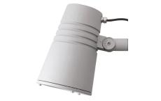 Spot Wax LED 48W 3000K, 3200 lumen, Ra>80, CD 13°, grå