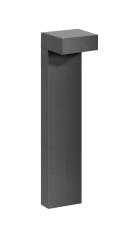 Pullert Mimik 10 Post 600 LED 11W 3000K, antracit