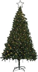 Karlslund juletræskæde 220 LED varmhvid IP44