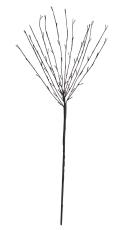 Albus træ 1M 50 LED med timerfunktion