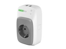 VOCOlinc Smart adapter EU-stik og 2 x USB