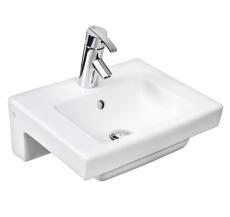 GBG 4450 Artic vask Hvid med hanehul og overløb
