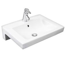 GBG 4550 Artic vask Hvid med hanehul og overløb
