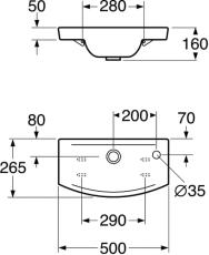 GBG 5197 Logic vask hvid