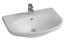 GBG 5570 Nautic håndvask 70x50 monteres på bolte eller bærin