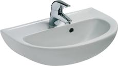 IS Eurovit håndvask 500mm m/hanehul og overløb