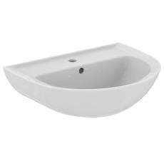 IS Eurovit håndvask 600mm m/hanehul og overløb