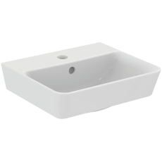 IS Connect Air håndvask 400mm firkantet m/hanehul og overløb