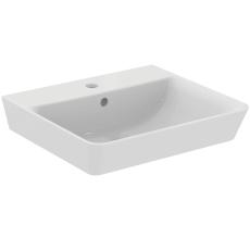 IS Connect Air håndvask 500mm firkantet m/hanehul og overløb