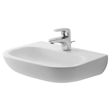 D-Code håndvask 45 x 34 cm til væg med hanehul