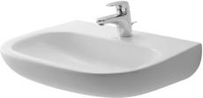 D-Code håndvask 60 x 46 cm til væg med hanehul, uden overløb