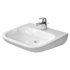 Washbasin Vital med 60 cm d-code hvid, handic., w/o of, tp,