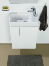 Laufen Pro håndvask 48 x 28 cm med hanehul til højre, hvid
