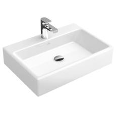 V&B 5135 Memento topmonteret vask C+ hvid med overløb