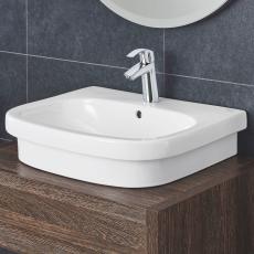 Euro keramik Topmonteret håndvask 60 1-hul