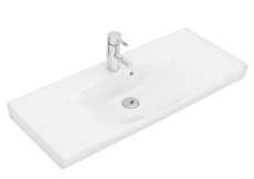 Ifö Spira håndvask 90 cm, compact, montering på bæringer