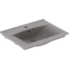 Elegant tynd håndvask hvor kanten er kun 15 mm tyk.