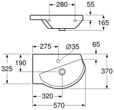 GBG 5198 Logic vask hvid