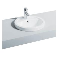 Ifö Preciosa håndvask hvid til nedfældning ø=420 mm