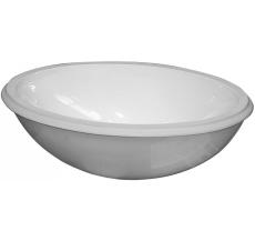 GBG 6147-98 underlimningsvask hvid med monteringssæt