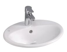 GBG 5545 Nautic oval nedfældningsvask 450 x 360 mm