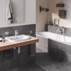 Bau Ceramic Håndvask til bordplade 55 indbygget