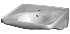 GBG 740-1 Rehab vask hvid med hanehul