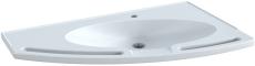 Pressalit Matrix Angle håndvask. Med integrerede håndgreb, h