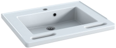 Pressalit Matrix Small håndvask. Med integrerede håndgreb, h