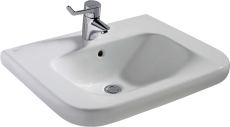 IS Contour21 kørestolsvask 650mm m/hanehul og overløb