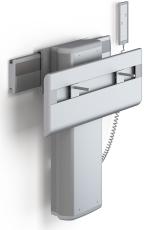 Pressalit Plus vaskophæng, EL, håndbetjening, højde/sidevært