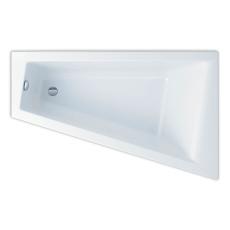 Ifö Acryllic badekar 1600 x 1000/500 mm asymmetrisk højre