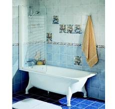 Ifö Caribia fritstående 1570 mm badekar hvid bk-pro 16