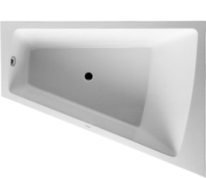 Bathtub Paiova 1700 x 1300 mm hvid corner right, with integr