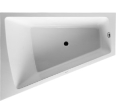 Bathtub Paiova 1800 x 1400 mm hvid corner left, with integra