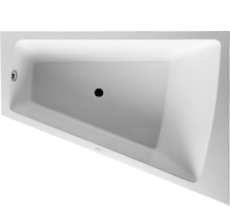 Bathtub Paiova 1800 x 1400 mm hvid corner right, with integr
