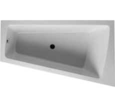 Bathtub Paiova 1700 x 1000 mm hvid corner right, with integr