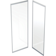 Ifö Solid kabineoverd./bagerst SK NS88 80 x 80 cm natur/scre
