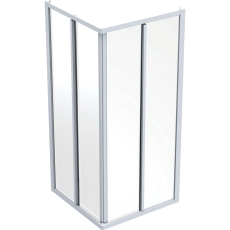 Ifö Solid kabineoverd./bagerst SK NS99 90 x 90 cm natur/scre
