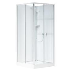 Ifö Next kabineoverdel NKH 88 VK hvid/klar glas