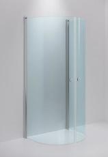 Linc monument, klart glas, blanke profiler,930x780mm