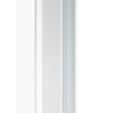 Byggeprofil 20 Hvid mat