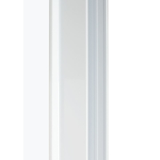 Byggeprofil 40 Hvid Mat