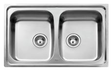 Intra Juvel Universo køkkenvask 200 dobbelt