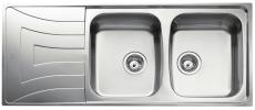 Intra Juvel Universo køkkenvask 200D afløbsbakke