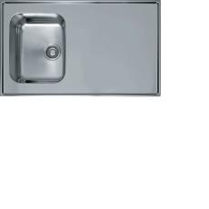 Deluxe stålbord F10R 1000x600 vendbar