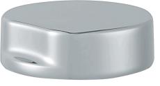 twist knob/unit steel look