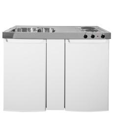 Intra minikøkken 1200 mm vask, køleskab, kogeplade