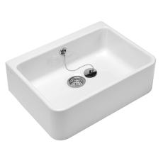 V&B 6321 Omnia Pro rengøringsvask hvid