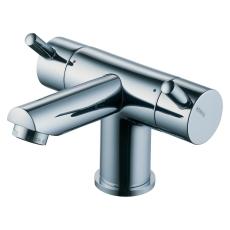 Børma A2 Håndvaskarmatur krom 2-grebs uden bundventil